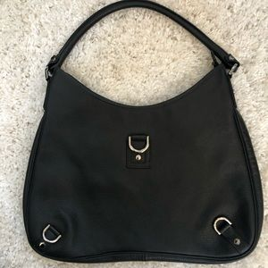 Gucci Abbey D Ring Hobo black leather